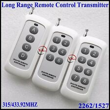 Small Size Long Range Remote Control 4 Button 6 Button 8 ButtonTransmitter RF