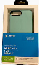 Speck Candyshell FIT Case for iPhone 8/7/6s Plus -Zeal Teal #121656-7801