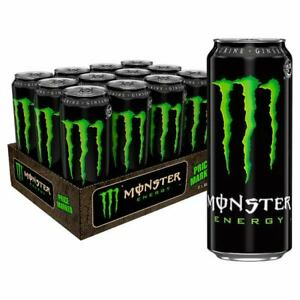 Monster Energy Drink 500ml Cans (Pack Of 24)