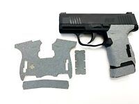HANDLEITGRIPS Gray Textured Rubber Gun Grip Tape Gun Parts SIG SAUER P365