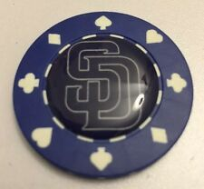 San Diego Padres Poker CHIP CARD GUARD WSOP, Poker Weight Card Protector