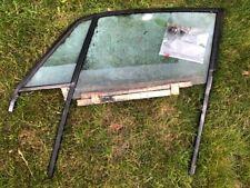 porsche 911 coupe window frame w/glass w/rail w/hardware left driver 74-89