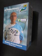 29323 Kretschmann 11-12 Chemnitzer FC CFC original signierte Autrogrammkarte