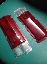 DATSUN 510 BLUEBIRD 68 Tail light Rear Lamps Lens US Spec Set Genuine Nos JAPAN
