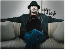 KID ROCK 2 REPRINT 8X10 AUTOGRAPHED SIGNED PHOTO PICTURE COLLECTIBLE SINGER RP