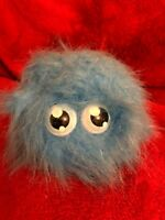 Light Blue Flufflings Laughing Push Toy By Vivid 9cm