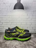 Brooks Glycerin 9 Mens Green Lace Up Low Top Mesh Running Athletic Shoes 9 D