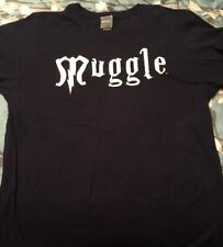 Harry Potter The Exhibition Muggle T-Shirt Large NWOT -Official WB Product-