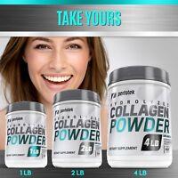 Premium Collagen Peptides Hydrolyzed Anti-Aging Protein Powder Various Sizes