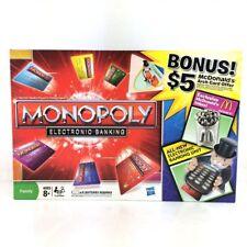 ~NIB~HTF RARE MONOPOLY Electronic Banking 2011 Exclusive McDonalds Game Token