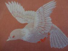 Vintage Kimono Fabric - Pigeon