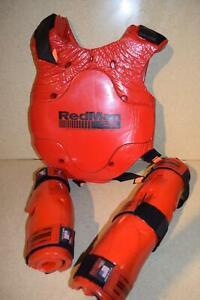 ^^REDMAN MACHO MMA SPARRING SELF DEFENSE FIGHTING-BODY GUARD-ARM/LEG SMALL (#10)