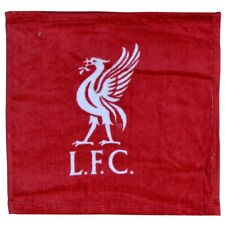 Liverpool FC Official Football Crest Face Cloth/Flannel Set (12 Pack) (SG3255)