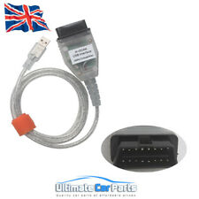 BMW Diagnostic USB OBD2  Interface K+CAN K+DCAN OBD K Scanner Scan Tool Cable UK