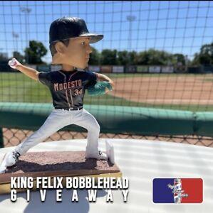 Felix Hernandez Modesto Nuts Bobblehead SGA 2021 6/19/21 Mariners King