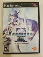 Xenosaga III 3 (Sony Playstation 2 ps2) Complete TESTED RARE FREE S/H
