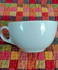 Set of 8 White CUPS Porcelain COFFEE Ceramicor LOT Restaurant 7oz MUG Prop Tea