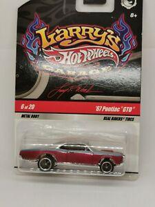 HOT WHEELS / LARRY'S GARAGE REALS RIDER TYRES 2008 / '69 Gto