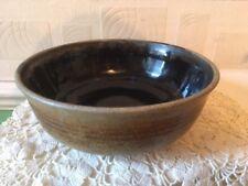 Studio Pottery Bowl Profile Studio Kendal Cumbria Drip Glaze Inner Stoneware