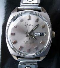 Messieurs-Montre-bracelet, automatique et affichage des dates, de Temporis, swiss made