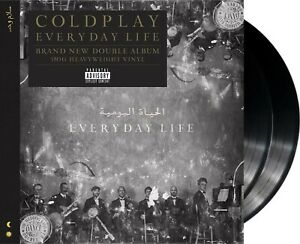 "Coldplay ""everyday life"" 180g heavyweight Vinyl 2LP NEU Album 2019"