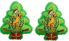 New listing Yeowww! 100% Organic Catnip Toy, Holiday Kris Krinkle - 2 Pack - Great Cat Toy