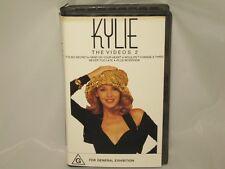 KYLIE MINOGUE -THE VIDEOS 2 - RARE AUSSIE VHS VIDEO