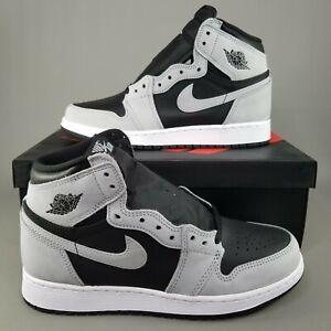 Nike Air Jordan 1 High OG Shadow 2.0 GS Shoes Sneakers 6Y Womens 7.5 575441-035