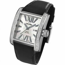 TW Steel CE3015B CEO Goliath  diamond watch features a 37mm wide and 12mm t