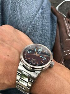 ORIS Williams F1 Team 7560 Day Date Blue Dial Automatic Men's Watch