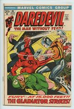 1972 MARVEL DAREDEVIL #85 GLADIATOR APPEARANCE  NM 9.4   S2