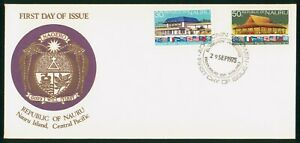 Mayfairstamps Nauru FDC 1974 South Pacific Conference Building Combo First Day C