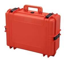 MAX505S w/ Foam Waterproof Protective Equipment Gear Tool Hard Case Box Orange