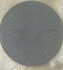 """450mm (18"""") sunflower stepping stones - various colours"""