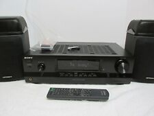 Sony STR-DH100 Stereo FM AM Receiver 90 Watts min, remote, antenna, Bundle mint