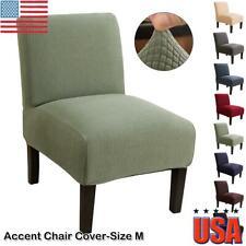 Armless Chair Accent Chair Cover Protector Elastic Spandex Modern Home Decor