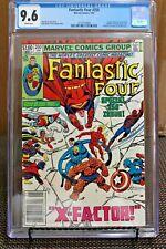 Fantastic Four #250 CGC 9.6 1983 Marvel Spider-Man & Cap America App: New Frame