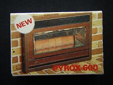 PYROX LTD NEW PYROX 600 DOMESTIC GAS SPACE HEATING CENTRAL POOL HEATING MATCHBOX