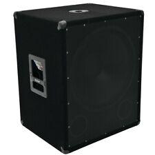 Tieftöner Kneipen Party Beschallung DJ Bass Lautsprecher PA Subwoofer Box 1200W