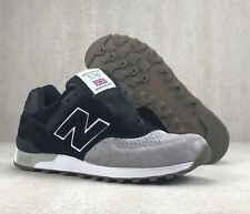 New Balance 576 M576PKG Made In England  Black Grey  Sneakers Shoes Mens Sz 11