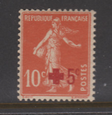 FRANCE 1914  YT 146 N** MNH NSC COTE 7,50€ croix rouge
