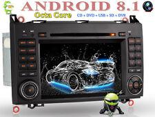 "7"" Android 8.1 DAB+ NAV Autoradio OBD+ GPS Für Mercedes Benz W169 W245 W906 Vito"