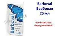 BARBOVAL DROPS 25 ML БАРБОВАЛ BARBOVALUM for insomnia sedative