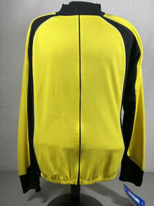 Bellwether men's Yellow/Black Cycling Lightweight 3 Back Pocket Jacket Size XXL