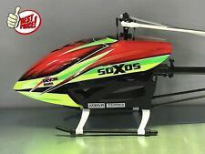 hélicoptère électrique rc radioguidé Soxos 550 kit télécommandé flybarless