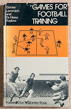 """Games for Football Training"" Kadow & Lammich 1974 1st thus Rous East German"