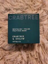 Crabtree & Evelyn Polish Pulp Mask 100G 3.5oz Nib Revitalise Hydrate Exfoliation