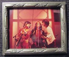 """Rolling Stones Mick Jagger Keith & Ron Wood 8x10"""" Standee Framed Picture"""