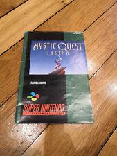 Mystic Quest Legend notice noe - Super Nintendo (SNES)