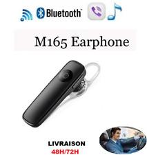 Casque kit oreillette 4.0 Bluetooth sans fil universel écouteurs stereo M165